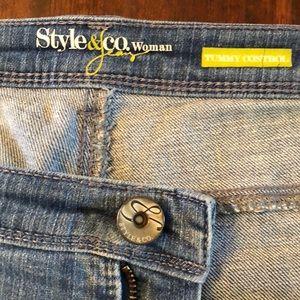 Style & Co Jeans - Style & Co. Women Jeans Capri Size 18W